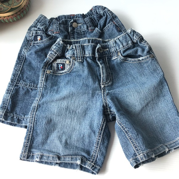 2 Pair Pumpkin Patch Shorts 12 mo